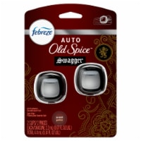 Febreze AUTO Old Spice™ Swagger Air Freshener Vent Clips - 2 pk