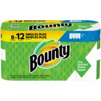 Bounty Select-A-Size Single Plus Roll Paper Towels 8 Rolls