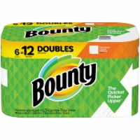 Bounty Full Sheets Doubles White Paper Towels