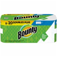 Bounty Select-A-Size Doubles Plus White Paper Towels