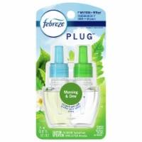 Febreze Morning & Dew Air Freshener Refill (2-Count) 74902 - 0.87 Oz.