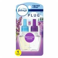 Febreze Plug Mediterranean Lavender Scented Oil Refill