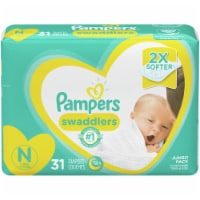 Pampers Swaddlers Size N Newborn Diapers
