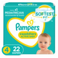 Pampers Swaddlers Size 4 Diapers Jumbo Pack