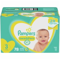 Pampers Swaddlers Size 3 Diapers - 78 ct