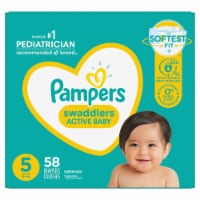 Pampers Swaddlers Size 5 Diapers