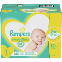 Pampers Swaddlers Size 1 Newborn Diapers