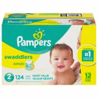 Pampers Swaddlers Size 2 Diapers