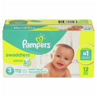 Pampers Swaddlers Size-3 Baby Diapers Giant Value Pack