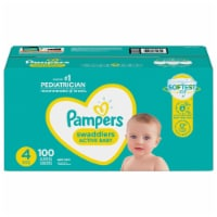 Pampers Swaddlers Size 4 Diapers