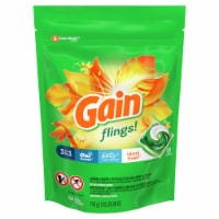 Gain flings! + Aroma Boost Island Fresh Detergent Pacs