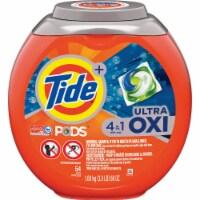 Tide Pods 56 Oz. 54 Loads 4-In-1 Ultra Oxy Laundry Detergent 75076 - 56 Oz.