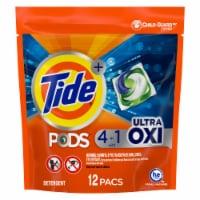 Tide  Oxi  Original Scent Laundry Detergent  Pod  12 pk - Case Of: 6; Each Pack Qty: 12; - Case of: 6