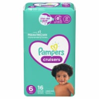 Pampers Cruisers Size 6 Diapers