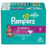 Pampers Cruisers Size 5 Diapers Super Pack