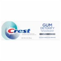 Crest Gum Detoxify Toothpaste Gentle Whitening