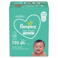 Pampers Complete Clean Unscented Baby Wipes - 9 pk / 80 ct