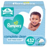 Pampers Complete Clean Baby Fresh Scent Wipes