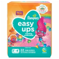 Pampers Easy Ups Hello Kitty Size 5 3T-4T Training Underwear 22 Count