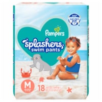 Pampers Splashers Medium Disposable Swim Pants