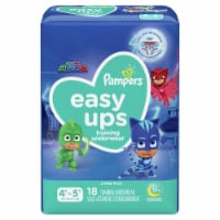 Pampers Easy Ups Size 4T-5T Boys' Training Underwear