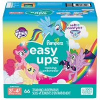 Pampers Easy Ups Girls 3T-4T Training Pants