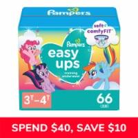 Pampers Easy Ups Girls 3T-4T Training Underwear