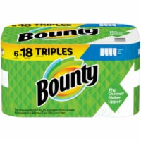 Bounty Select-A-Size 2-Ply Paper Towels Triple Rolls