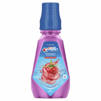 Crest Kids Anticavity Alcohol Free Fluoride Rinse Strawberry Rush