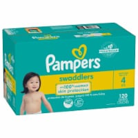 Pampers Swaddlers Active Baby Size 4 Diapers - 120 ct