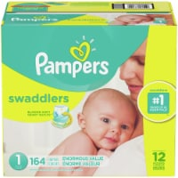 Pampers Swadders Size 1 Diapers - 164 ct