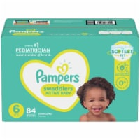 Pampers Size 6 Swaddlers Diapers - 84 ct