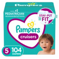 Pampers Cruisers Size 5 Diapers