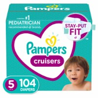 Pampers Cruisers Size 5 Diapers - 104 ct