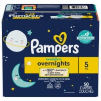 Pampers Swaddlers Overnights Size 5 Baby Diapers
