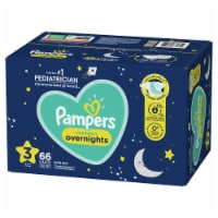 Pampers Swaddlers Overnights Size 3 Baby Diapers