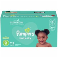 Pampers Baby-Dry Size 6 Diapers - 112 ct
