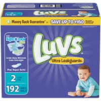 Luvs Triple Leakguards Size 2 Diapers