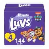 Luvs Triple Leakguards Size 4 Diapers