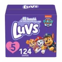 Luvs Triple Leakguards Size 5 Diapers
