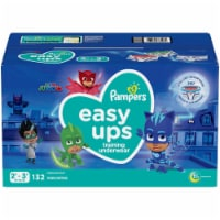 Pampers Easy Ups Size 2T-3T Boys' Training Underwear - 132 ct