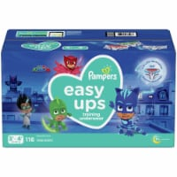 Pampers Easy Ups Size 3T-4T Training Underwear - 116 ct