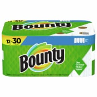 Bounty Select-a-Size 2-Ply Double Plus Paper Towel Rolls - 12 rolls