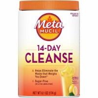 Metamucil 14-Day Cleanse Citrus Flavor Fiber Powder