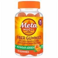 Metamucil Orange Flavor Fiber Gummies