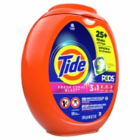 Tide Fresh Coral Blast 3 in 1 Liquid Laundry Pods