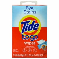 Tide® To Go® Instant Stain Remover Wipes - 10 ct