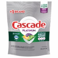 Cascade Platinum Lemon Scent Dishwasher Detergent ActionPacs