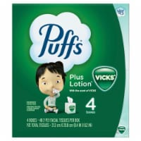 Puffs Plus Lotion with Vicks Scented Facial Tissue