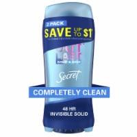 Secret Outlast Completely Clean Antiperspirant/Deodorant 2 Count